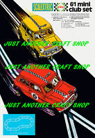 Scalextric Mini Cooper Racing Set No 61 A3 Size Poster Advert Leaflet Sign 1971