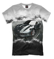 Chevrolet Corvette tee - sports car print legendary USA car image t-shirt
