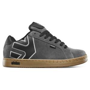 ETNIES FADER SKATE SHOES Grey / Gum Sizes UK 8-12