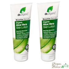 DR ORGANIC Organic Aloe Vera Skin Lotion - 2 x 200ml