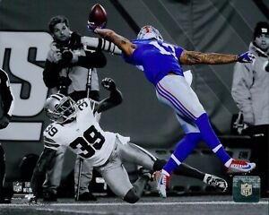 Odell Beckham New York Giants Licensed NFL Unsigned Matte 8x10 Photo A