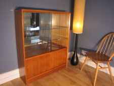 Teak Display Cabinets 20th Century Antique Cabinets