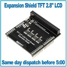 "Expansion Shield for TFT 2.8"" LCD Touch Screen for Arduin Uno / Mega by RoboyDyn"