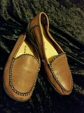 Thom Mcan Leather Shoes Size 6w moccasins