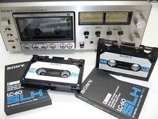 Elcaset Sony EL-5 cassette deck + 2 elcassettes + manual