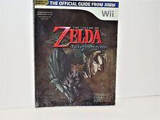 Official Nintendo The Legend of Zelda Twilight Princess Player's Guide w/ poster