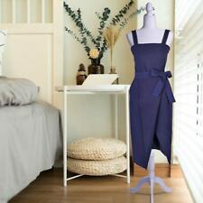 Female Mannequin Torso Dress Clothes Form Style Display w/ White Tripod Stand