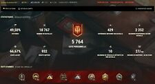 World of Tanks EU account Special Tier X & 27 Premium Tanks ! 8 Tier X and more