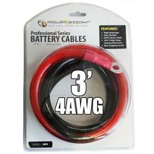 Power Bright Model 4 AWG-3 Gauge 3 ft Professional Series Cables