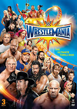 WWE Wrestlemania 33 XXXIII + Hall Of Fame Cermeony 3x DVD DEUTSCH