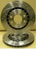 FOR NISSAN SKYLINE R32 R33 R34 BRAKE DISC DIMPLED GROOVED BRAKE DISC 296X32MM