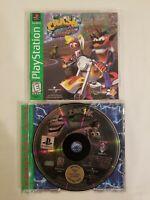 Crash Bandicoot Warped (PlayStation 1, 1998) PS1 Game Greatest Hits Edition CIB