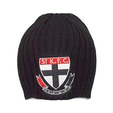 Official AFL St Kilda Saints Acrylic Rib Knit Surf Beanie