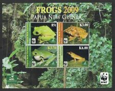 2009 Papua New Guinea Frogs MS SG 1302 MUH