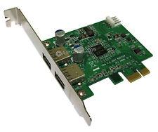 USB 3.0 carte d'extension PCI Express pour emplacements de carte mère + 4 pin floppy puissance