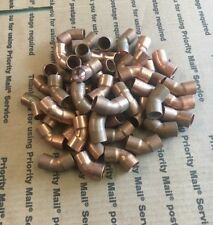 """Copper 45 Degree Cup x Cup Elbows Mueller And Nibco 1/2"""" quantity Of 50"""