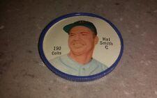 Original 1962 Salada Tea Junket plastic baseball coin #190 Hal Smith Colts