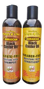 Jamaican Mango & Lime Black Castor Oil Shampoo & Conditioner