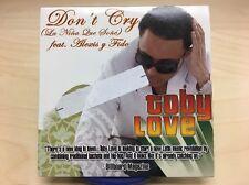Don't Cry (La Niña Que Soñe) by Toby Love ft. Alexis Y Fido (2006 CD) PROMO ***
