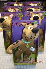 "NEW in box 14"" Talking Scooby Doo Plush Dog Stuffed Animal Soft Toy Warner Bros"