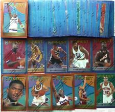 1995-96 Finest Series 2 Partial Set - Stackhouse Stoudamire McDyess Finley RCs +