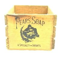 Vintage Pears Soap Crate Box