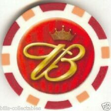 3 pc 3 colors Budweiser Clydesdales poker chips sample set #171
