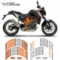 "MOTORCYCLE RIM ""17 STRIPES WHEEL DECALS STICKERS FOR KTM DUKE 790 2018"