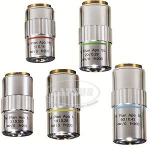 95mm APO 2X 5X 10X 20X 50X Long Working Distance M PLAN LWD Objective Lens