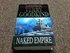 Terry Goodkind  Sword of Truth: Naked Empire 8  (2003, Hardcover