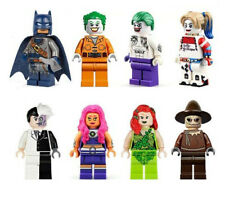 Suicide Squad Arkham Asylum Joker Harley Quinn Two Face Poison Ivy Scarecrow New