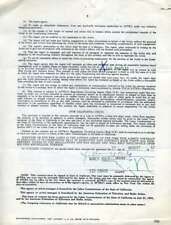 NANCY KULP JSA Coa Hand Signed AFTA Contract Authentic Autograph