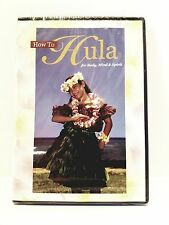 HOW TO HULA for Body. Mind & Spirit DVD Patricia Lei Anderson ~ Filmed in Hawaii