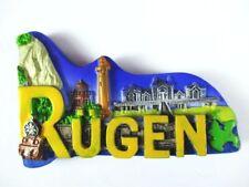 Rügen Island Polyresin Magnet Germany Germany Souvenir, New