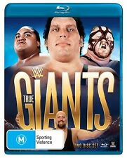 WWE Presents - True Giants (Blu-ray, 2015, 2-Disc Set)