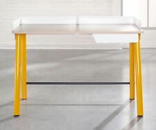 Sauder Furniture Soft Modern Yellow Saffron Contemporary Desk w/ Drawer | 414845