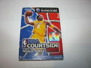 NBA Courtside 2002 Nintendo GameCube Japan import US Seller