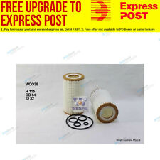 Wesfil Oil Filter WCO38 fits Mercedes-Benz C-Class C 240 (S203),C 240 (W202),
