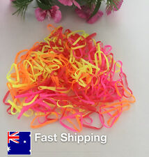 1Packs/200pcs Hairband Rope Ponytail Holder Elastic Hair Ties  baby girl 0-3yrs