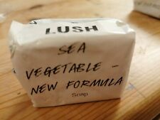 LUSH WRAPPED BAR OF SOAP Sea Vegetable new formula 58g