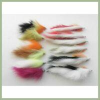 Zonker Trout Flies, 12 Pack,Two Tone and bunny Leech, Size 10. Fishing Flies