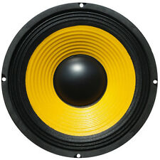 "1 WOOFER WEB W-064 GIALLO DA 16,50 CM 165 MM 6,5"" PORTE PORTIERE CAR 50 WATT RMS"