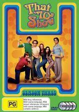 That 70's Show : Season 3 (DVD, 2006, 3-Disc Set) Brand New Sealed Region 4