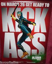 Cinema Poster: KICK-ASS 2010 (One Sheet Kick-Ass) Aaron Johnson Nicolas Cage