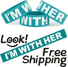 I'm With Her Wristband - Show Love For Your Girlfriend Wife Wear this Bracelet