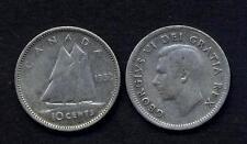 CANADA 10 Cents 1952  AG