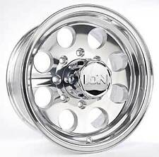 """16"""" ION 171 Polished Wheels Rims 8x170 8 Lug Ford F-250 F-350 Super Duty"""