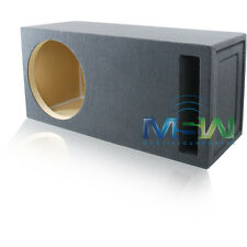 15-Inch CUSTOM-PORTED MDF CAR STEREO SUB WOOFER ENCLOSURE 3 CU. FT. TUNED @ 35Hz