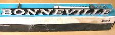 "1971 Pontiac ""Bonneville"" Grill Name Plate NOS, 483937"