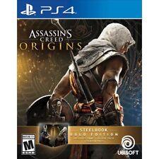 Assassin's Creed Origins SteelBook Gold Edition + Season Pass PlayStation 4 PS4